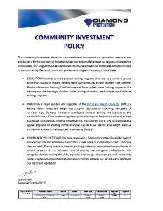 community-investment-policy