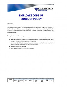 employee-code-of-conduct-policy