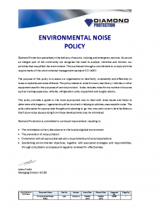 environmental-noise-policy