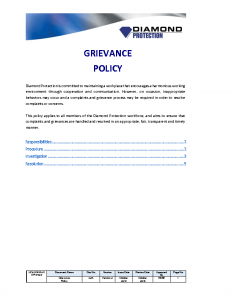 grievance-policy