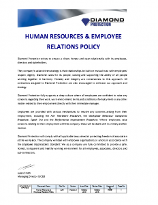 human-resource-employee-relations-policy