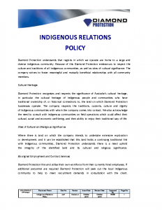 indigenous-relations-policy