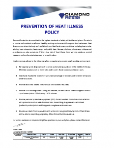 prevention-of-heat-illness-policy